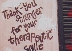 thank you stranger for your smile large e1372933272888 - The art of the morning hello