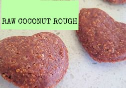 raw coconut rough