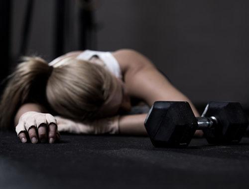 overtraining burnout