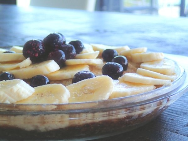 PC150052 599x449 - Raw Banana and Coconut Cream Tart