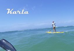 A little insight into a downwind SUP paddle