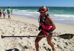 Rottnest Island Adventures - The Doctor SUP race 2014
