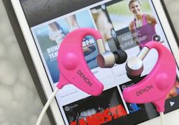 Workout playlists + win an awesome Denon sports bluetooth headphones!