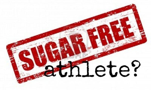 11005382 red grunge stamp with the text sugar free written inside the stamp 599x359 - Should Athletes Eat Sugar Free?