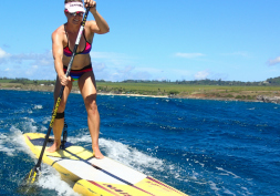 Maui summer SUP fun - video