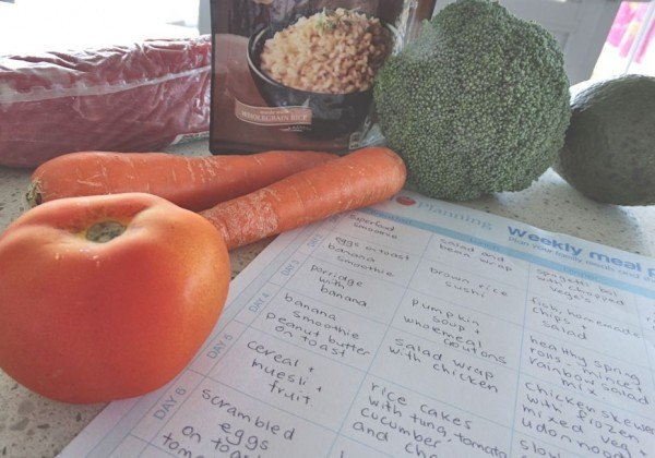 planning 600x420 - How to Be Smart and Plan Healthy Meals