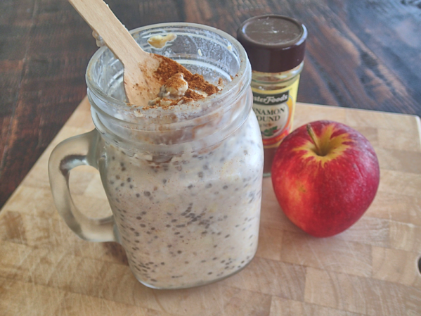 apple and cinnamon oat soak
