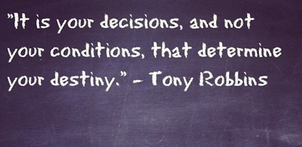 anthony robbins quote
