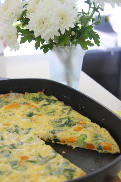 Breakfast Vegetable Frittata