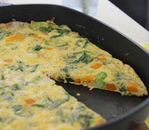 Breakfast Vegetable Frittata