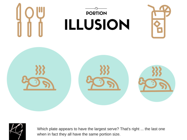 portionillusion 599x449 - 11 Ways to Reign in Your Portion Sizes