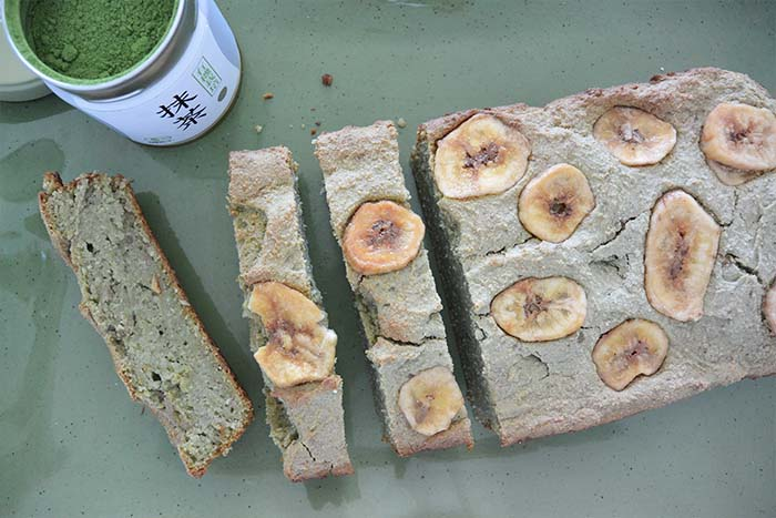 DSC 0483 - Gluten Free Matcha Banana Bread + How to Choose an Organic Matcha Powder