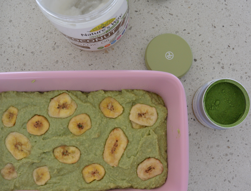 Gluten Free Matcha Banana Bread + How to Choose an Organic Matcha Powder