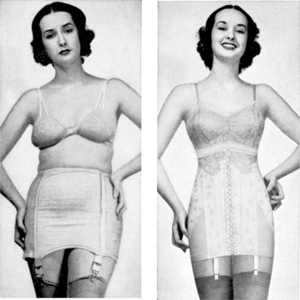 Spencer corset 1941 before after 599x599 - This is What is Wrong About 'Before' and 'After' Photos