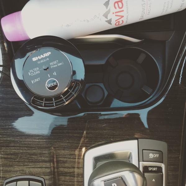 sharp car ioniser