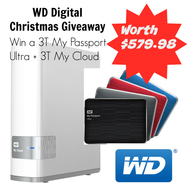 WD giveaway