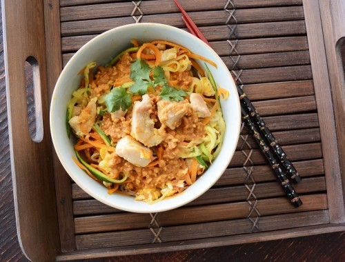Healthy Pad Thai - Unfried and Low Carb