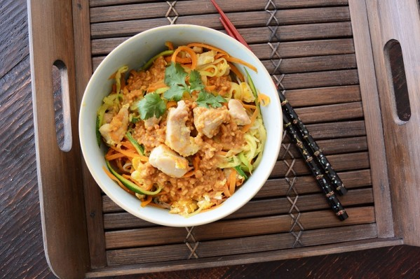 healthypadthaismall 599x399 - Healthy Pad Thai - Unfried and Low Carb