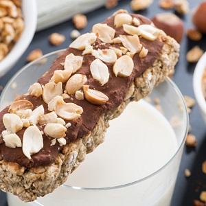 Crunchy Almond Protein Bars