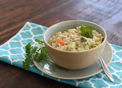 slow cooker chicken risotto