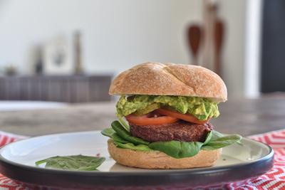teffpattiexsmall - Terrific Teff Veggie Burgers