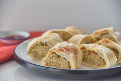 thermomix sausage roll