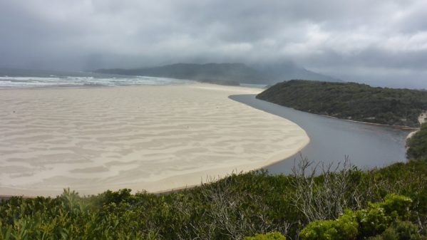 South Coast 2017 Eric P 86 599x337 - South Coast Track 2017 - The Hike with a Purpose