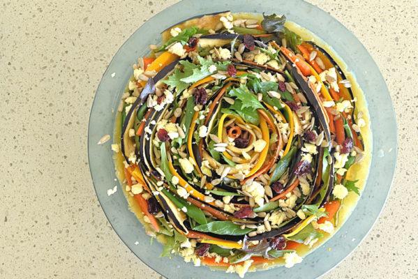 roast vegetable spiral