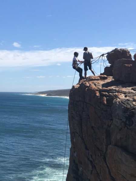 cape to cape abseiling