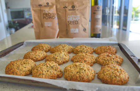 healthy hemp seed cookies