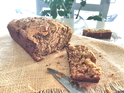 yoghurt and zucchini bread2 - Greek Yoghurt Zucchini Bread
