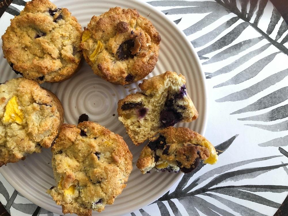 berry muffins - Gluten-Free Vegan Very Berry Muffins