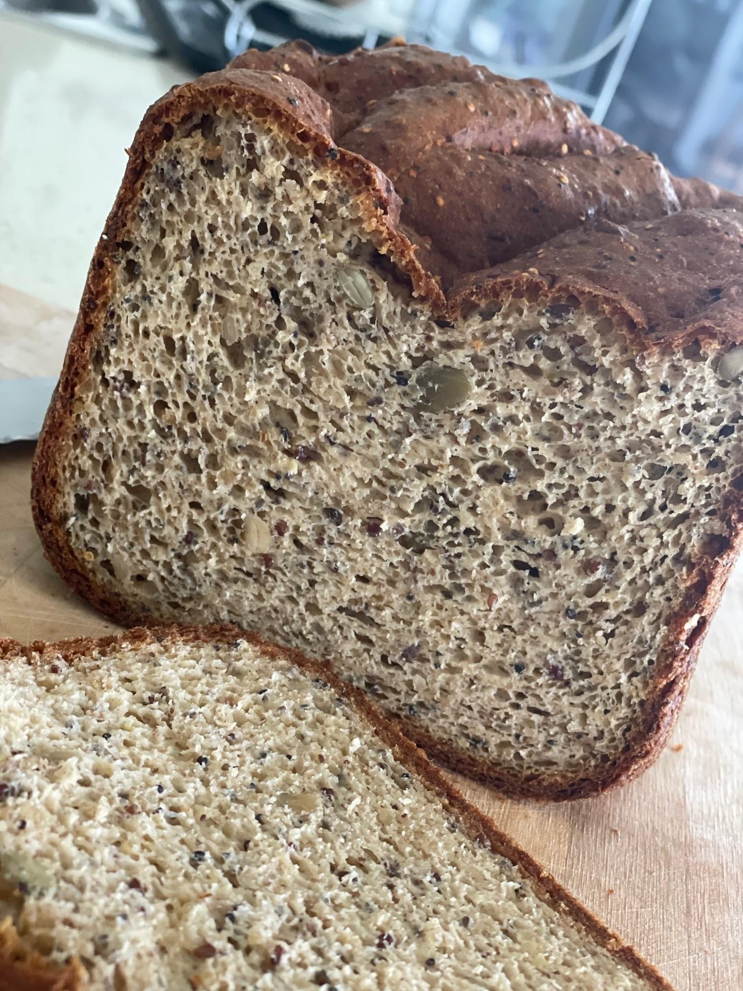 gluten free bread - Wholegrain Gluten Free Homemade Bread Loaf