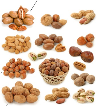 compare nuts nutrition