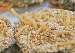 DSC01334 e1371466633273 - Quinoa Crusted Zucchini Chips