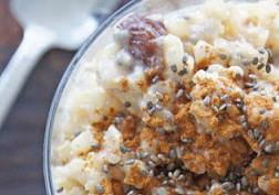 DSC01923 e1371450977943 - Healthy Coconut Chia Seed Rice Pudding