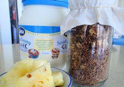 Coconutty Anzac granola