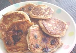 Sugar free wholemeal pikelets - school lunch idea