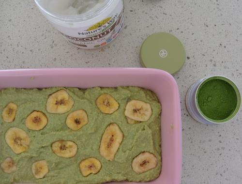 Gluten Free Matcha Banana Bread + How to Choose an Organic Matcha Powder